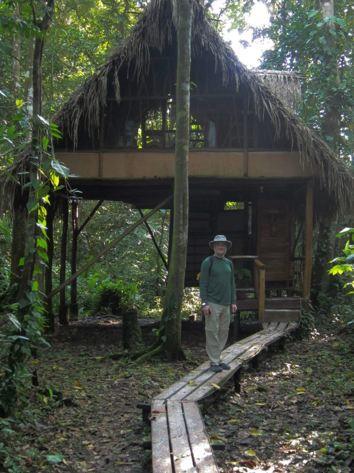 Jungle Cabana, our home for three of the six nights
