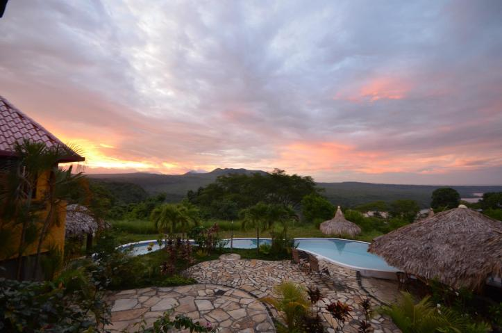 Sunset at the Hacienda