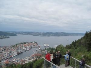 View from Floyen