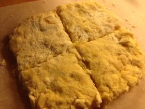 scones pre-bake