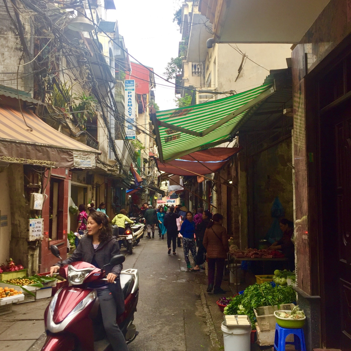 Hectic and Wholesome: our Hanoi